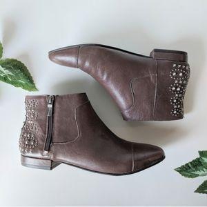 BCBG BCBGeneration leather studded boots size 7
